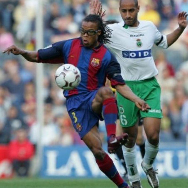 Después fue parte del plantel del Barcelona en 2004 Foto:AFP