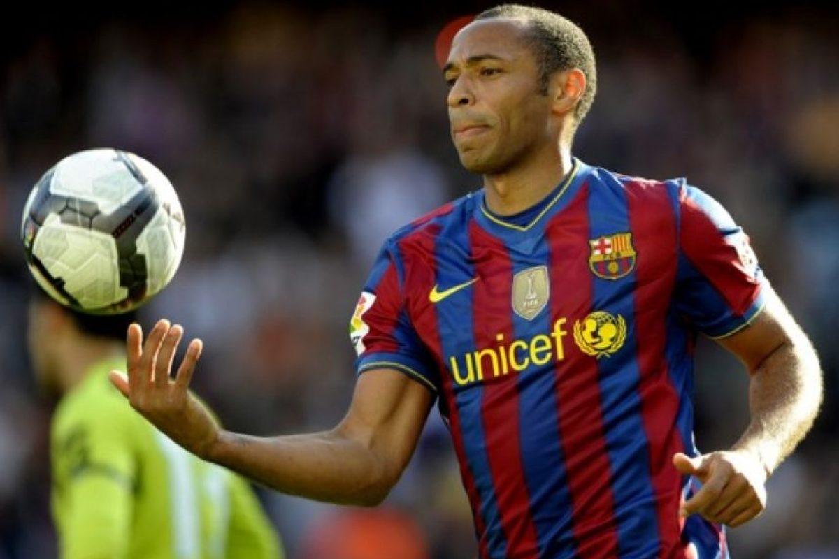 """Tras su fructífero paso por el Arsenal de Inglaterra, """"Tití"""" recalaría en Barcelona durante tres temporadas: de 2007 a 2010 Foto:AFP"""