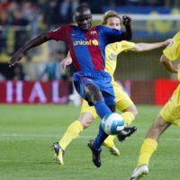 Luego defendería al Barcelona entre 2006 y 2008 Foto:AFP