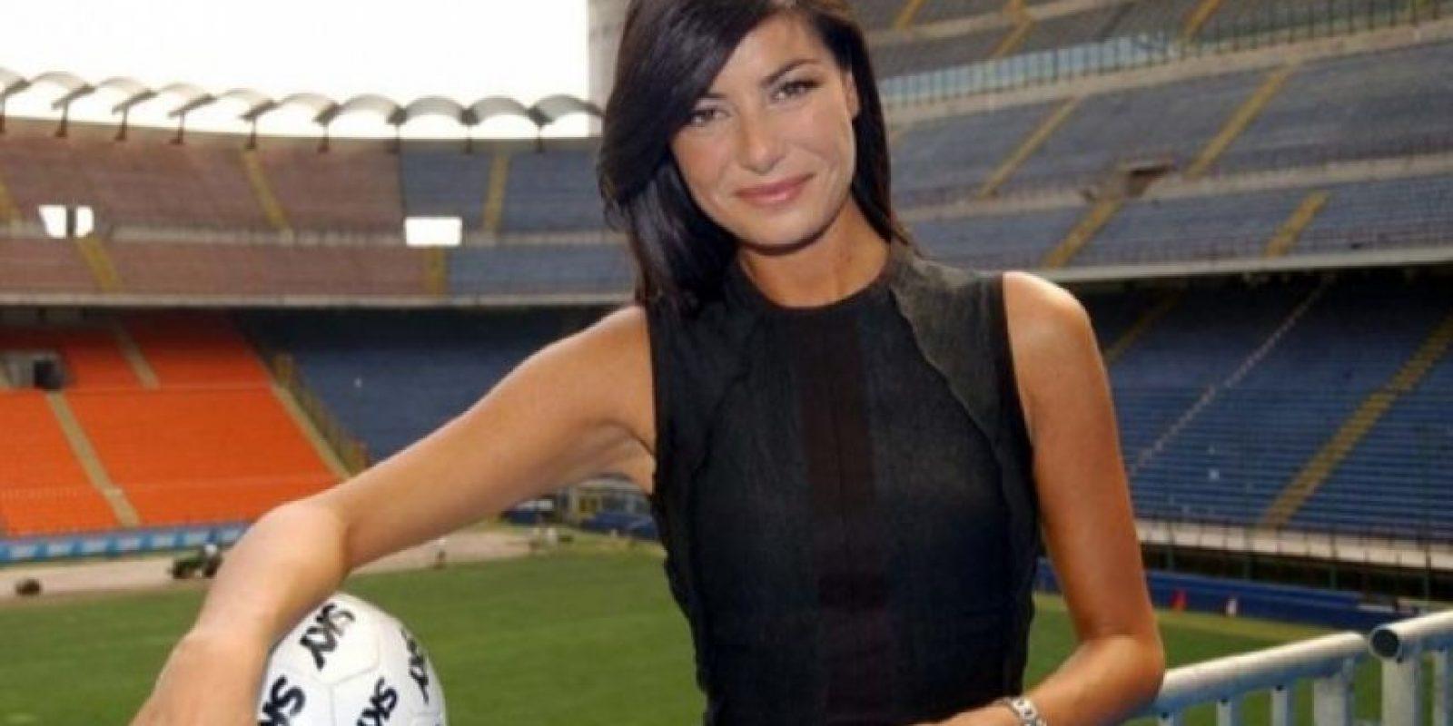 Ilaria D'Amico, esposa de Gianluiggi Buffon (Juventus)