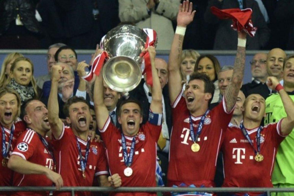 Bayern Munich (Alemania): 1974, 1975, 1976, 2001, 2013. Foto:AFP