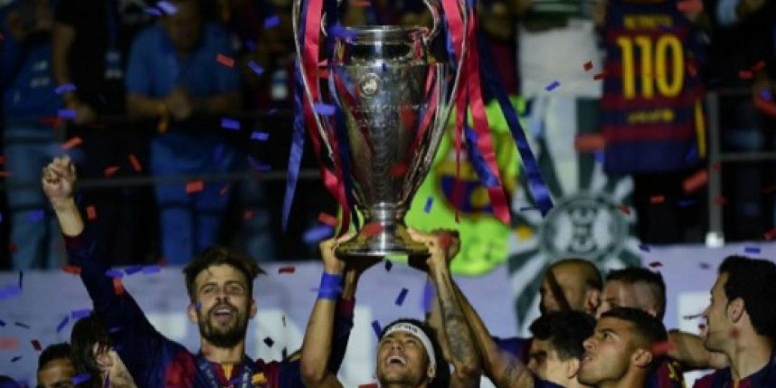 Barcelona (España): 1992, 2006, 2009, 2011, 2015. Foto:AFP
