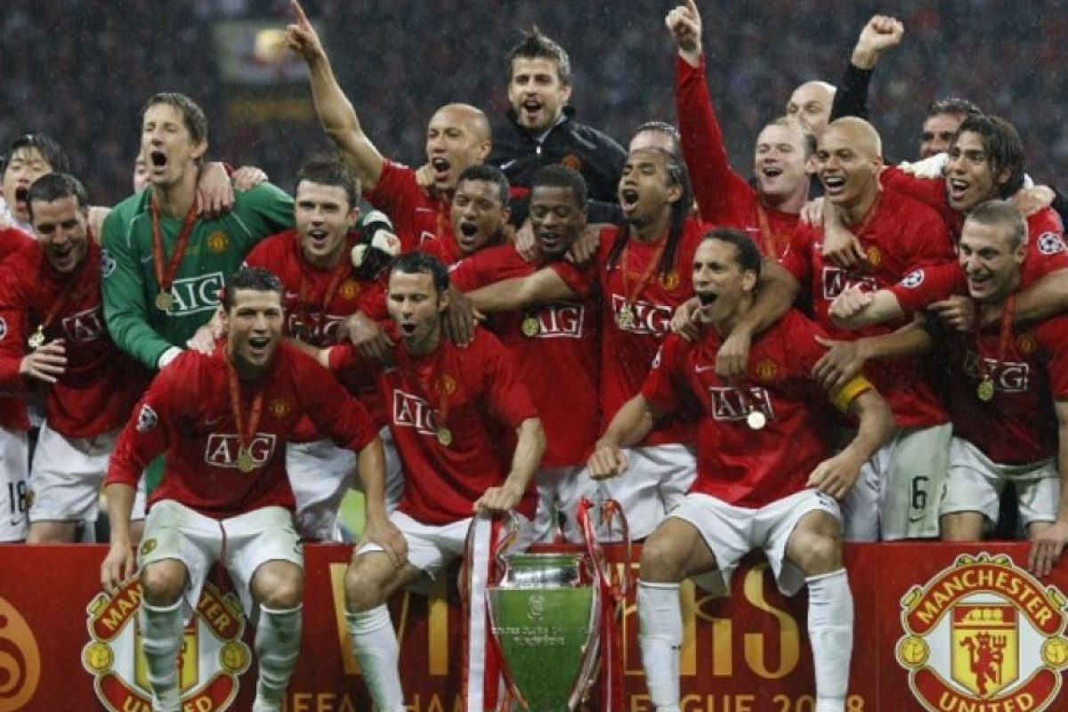 Manchester United (Inglaterra): 1968, 1999, 2008. Foto: AFP