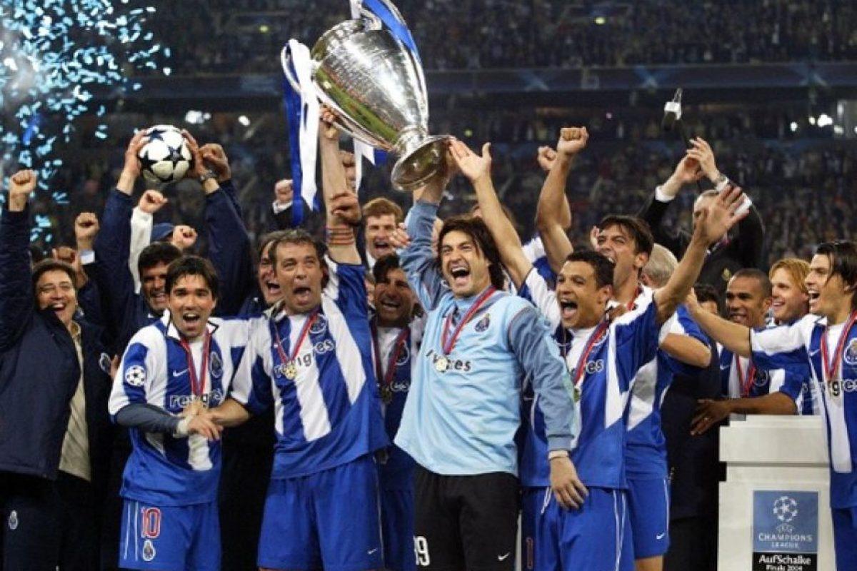 FC Porto (Portugal): 1987, 2004. Foto:AFP