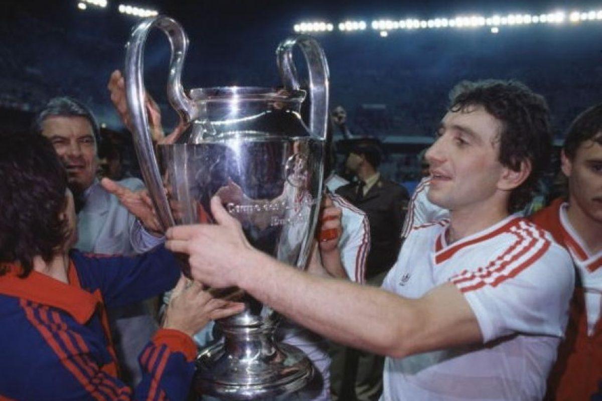 Steaua de Bucarest (Rumania): 1986. Foto:Getty Images