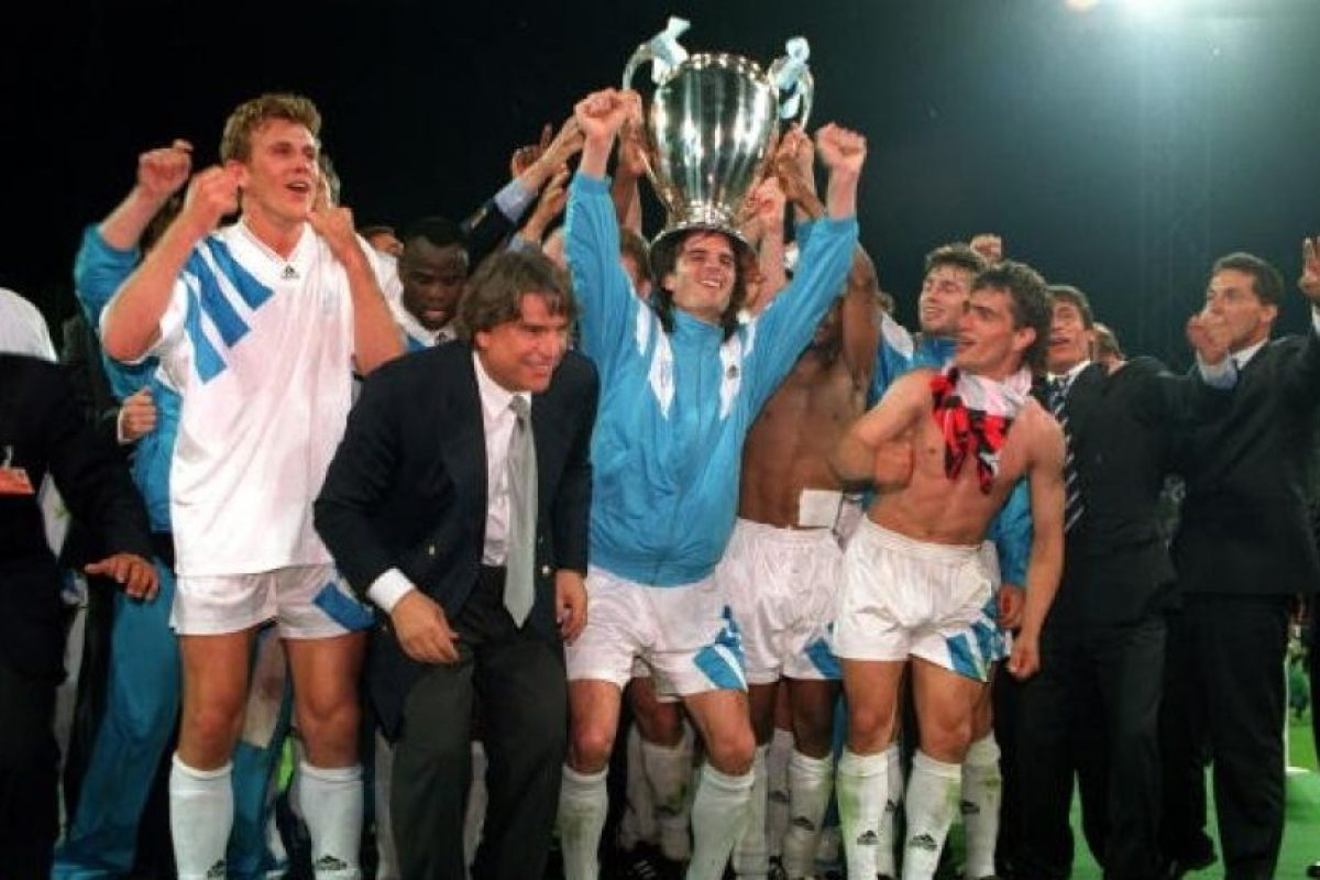 Olympique de Marsella (Francia): 1993. Foto:Getty Images