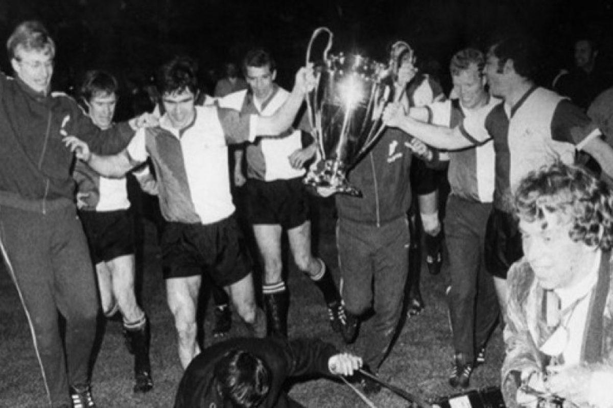 Feyenoord (Holanda): 1970. Foto:WWW.UEFA.COM