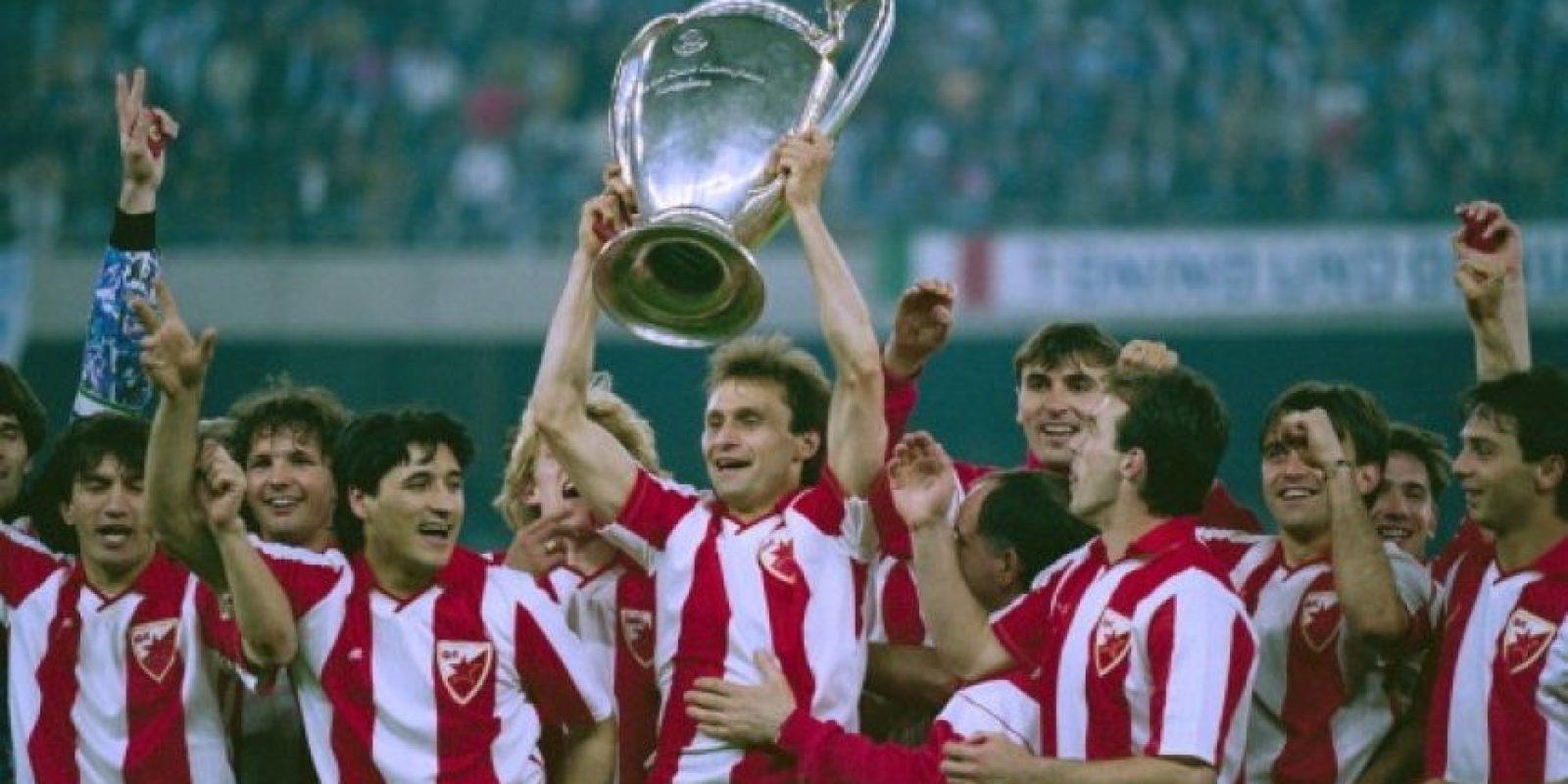 Estrella Roja (Serbia – ex Yugoslavia): 1991. Foto:Getty Images