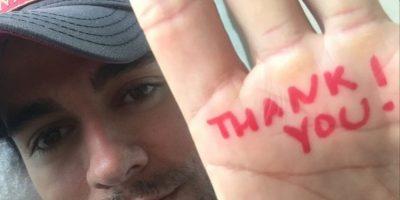 Agradeció a sus fans el apoyo Foto:Vía instagram.com/enriqueiglesias/