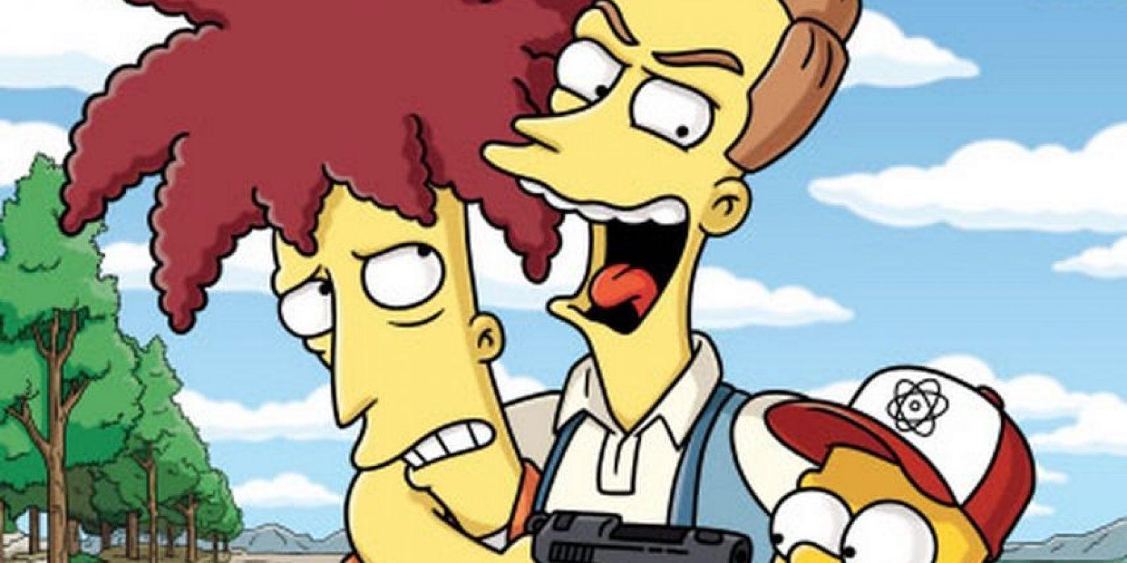 """En """"The Italian Bob"""", Bob aparece como alcalde de Toscana, una ciudad italiana, junto a su nueva esposa Francesa e hijo Gino (ambos italianos). Todo parece indicar que Bob se ha reformado, pero todo cambia cuando Lisa, tras beber vino, lo descubre ante todos, y entonces Bob jura """"vendetta"""" (venganza) contra los Simpson, y su mujer e hijo lo ayudan Foto:FOX"""