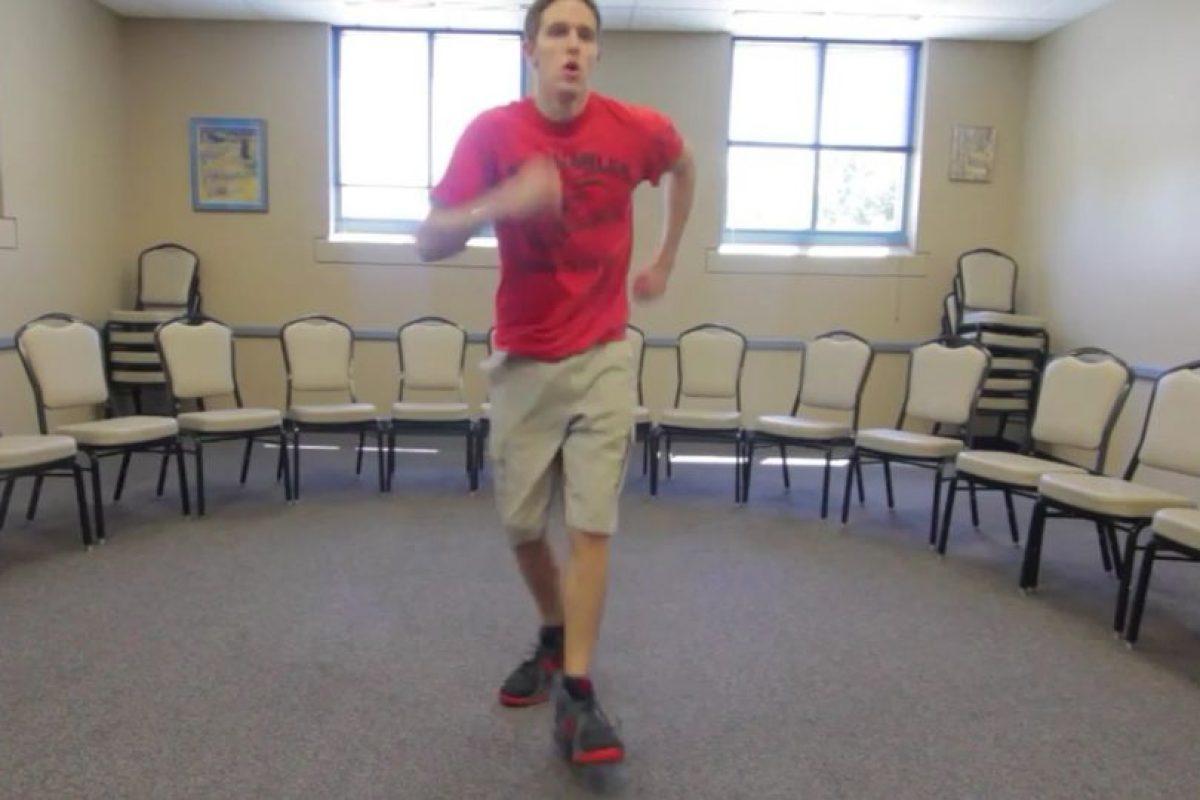 Luego quería bailar durante 100 días seguidos una misma rutina en su habitación y también lo logró. Foto:Vía Youtube/ProjectOneLife