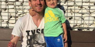 El jugador del Barça ama compartir fotos con su familia. Foto:Vía instagram.com/leomessi
