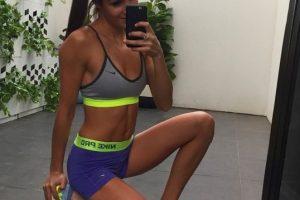 A partir de ahí, desarrolló una tabla de ejercicios combinada con un dieta Foto:Vía instagram.com/kayla_itsines/