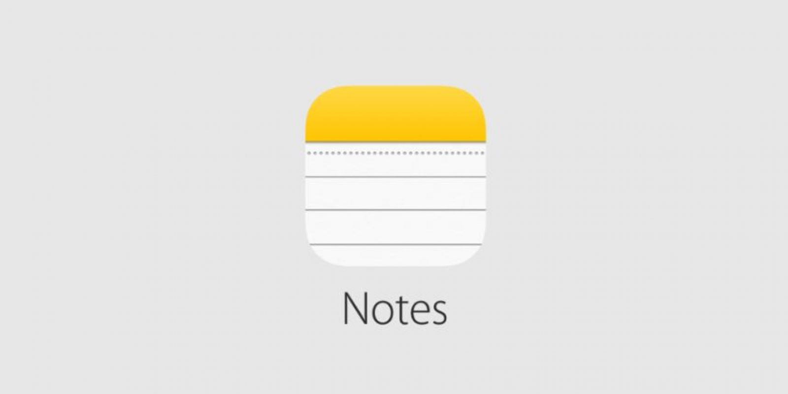 O Notes Foto: Apple