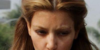 5. Decolorar sus cejas. Foto:vía E!