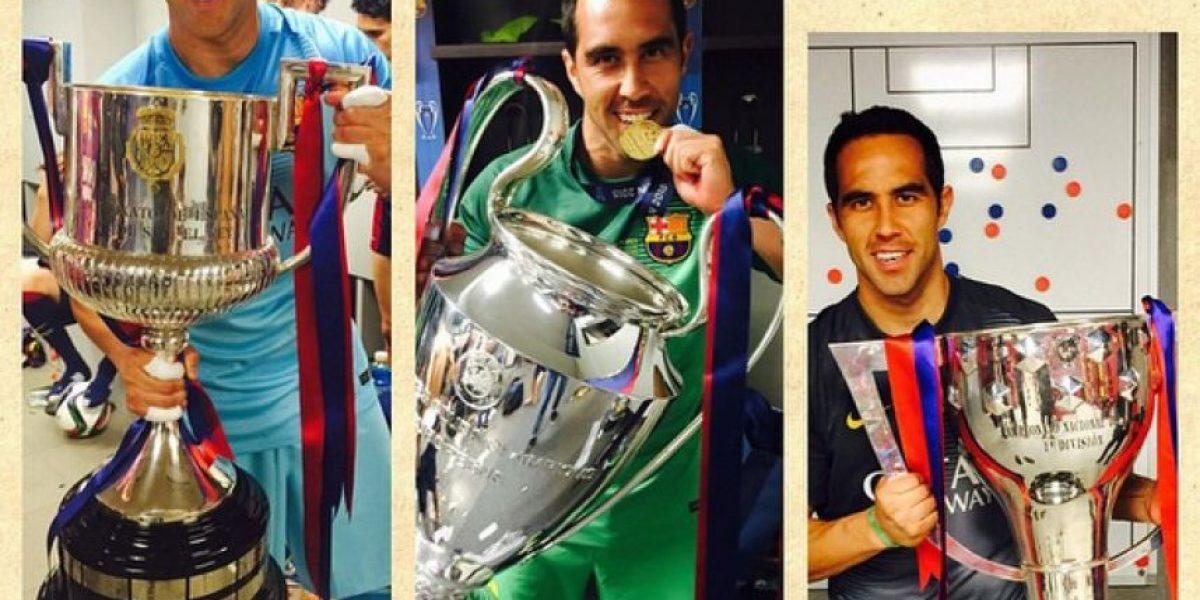 Para la UEFA, Claudio Bravo no es campeón de la Champions League