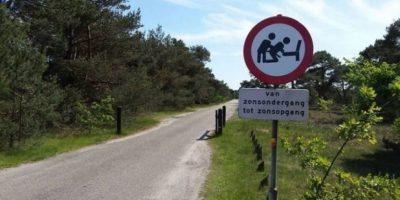 FOTOS: Esta es la nueva y extraña señal que desea evitar relaciones al aire libre