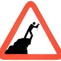 No tirar animales desde la montaña Foto:Tumblr