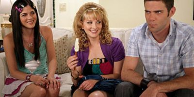 """Estuvo en la serie de televisión """"Kath y Kim"""" (2008). Foto:vía NBC"""