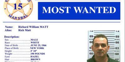 Estaba incluido en la lista de los criminales más buscados. Foto:Vía Policía de Estados Unidos