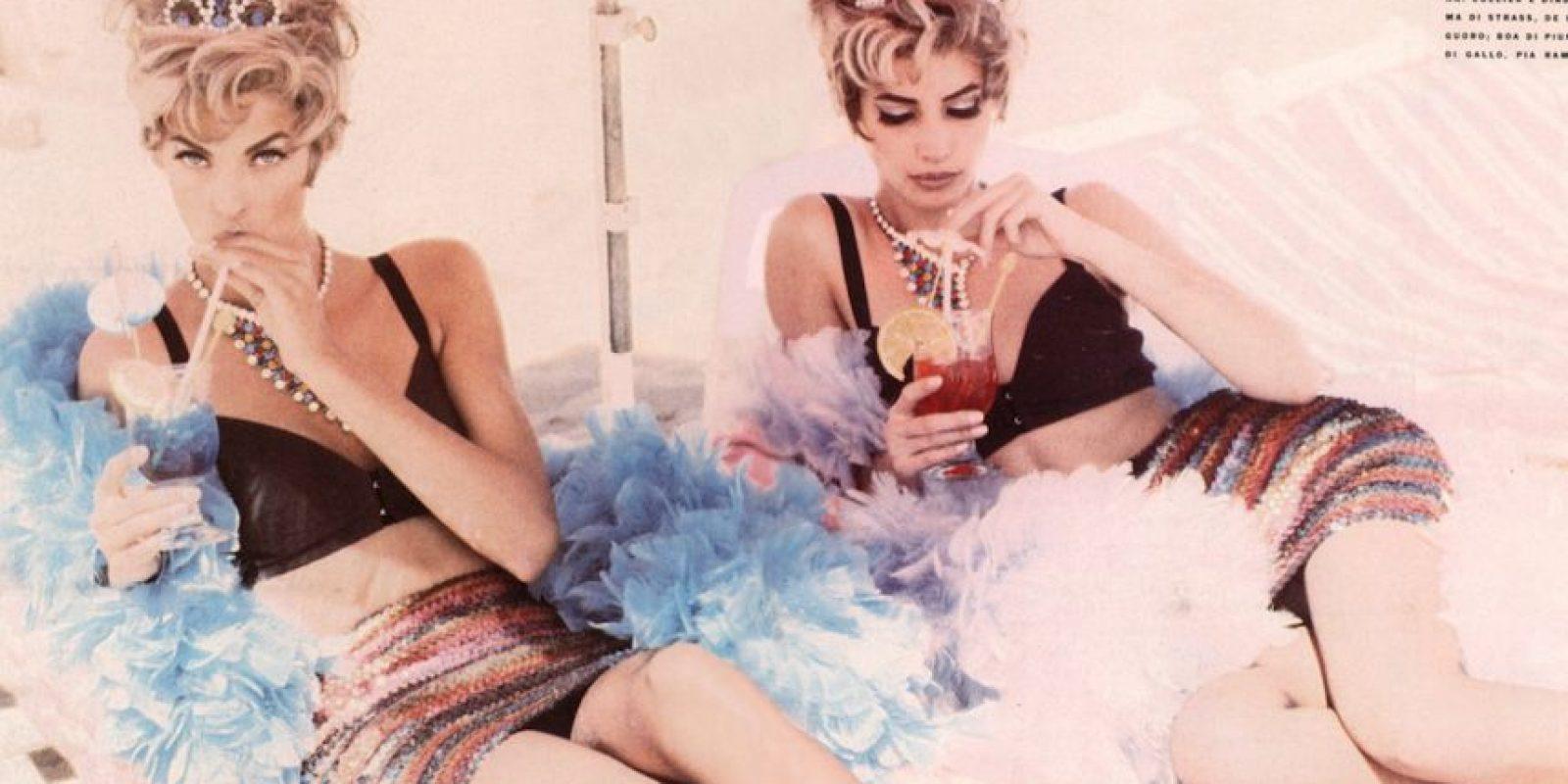 Las modelos actuales ya no gozan de su estatus. Foto:vía Vogue