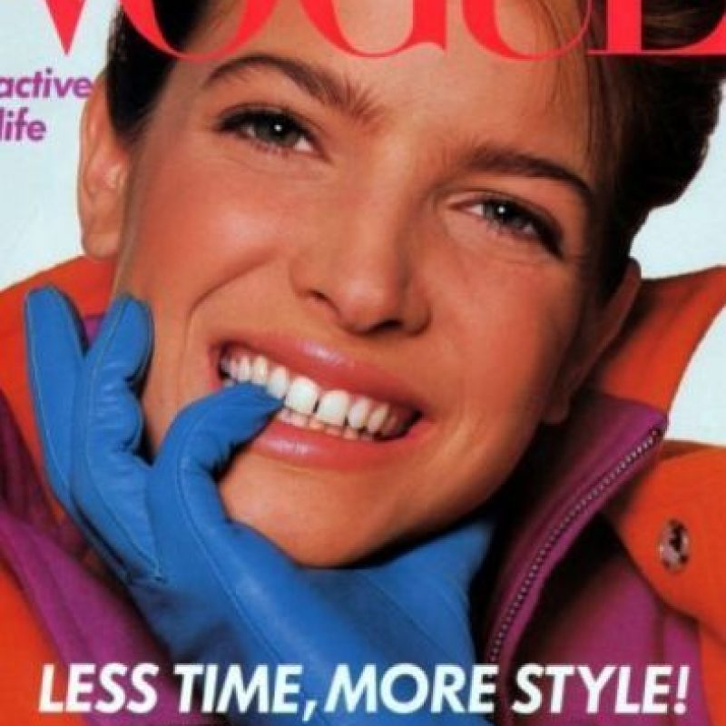 5. Stephanie Seymour. Foto: vía Vogue