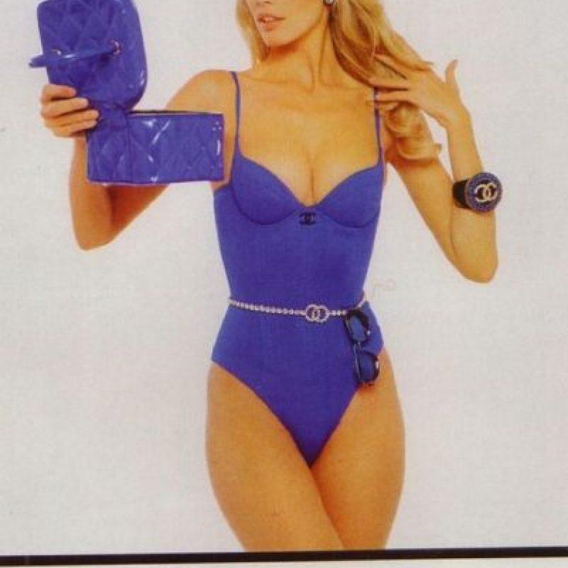También hizo la publicidad de los jeans Guess en los años 90 y estuvo en las campañas de Citröen. Foto:vía Chanel