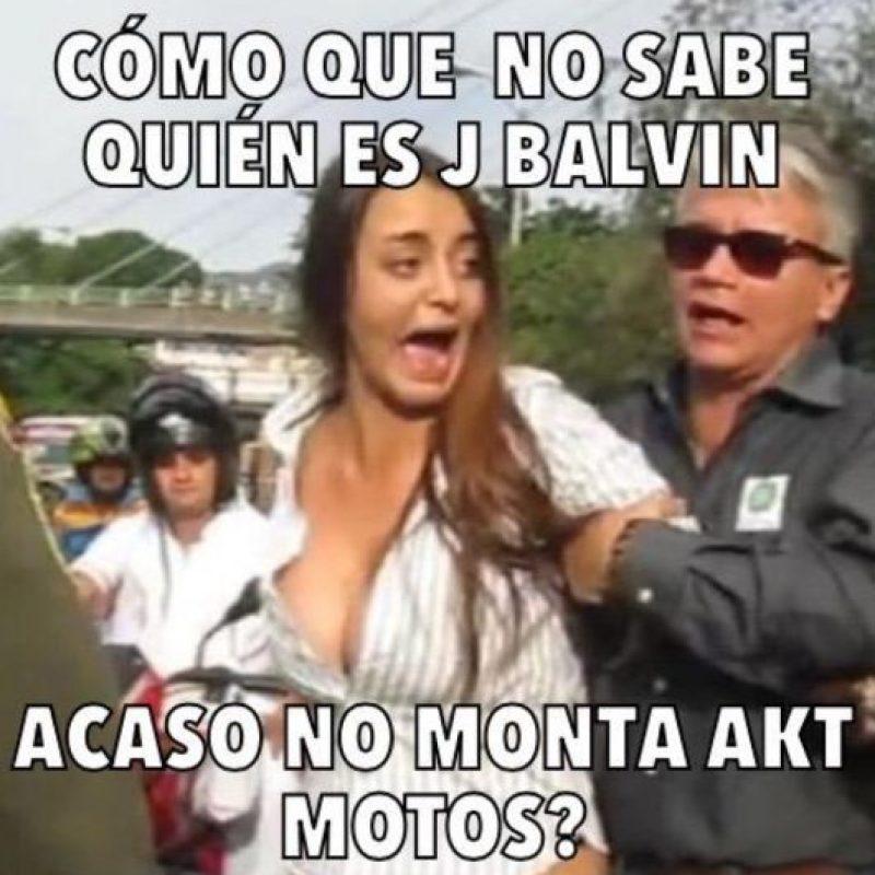 """Afirman que el cantante colombiano tiene """"doble moral"""". Foto:vía Twitter"""