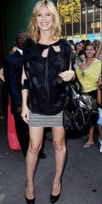 Mejor como Heidi Klum, una silueta más holgada. Foto:vía Getty Images