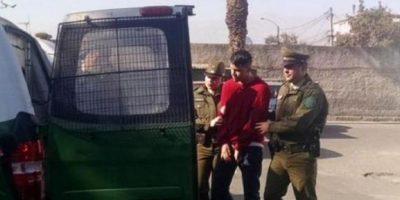 El colombiano fue detenido en Chile, al parecer por agresión hacia una modelo. Foto:vía Twitter