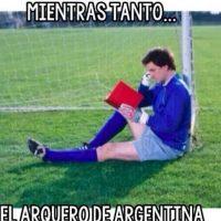 El dominio argentino en los 90 minutos reglamentarios fue evidente. Foto:memedeportes.com