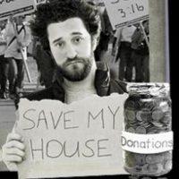 Para salvarse vendió camisetas con esta imagen a 15 dólares cada una Foto:Vía retromemories.net