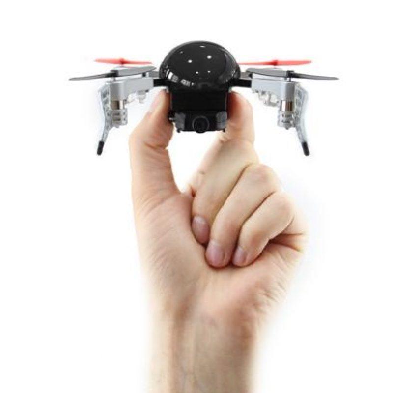 Cabe en la palma de la mano Foto:Vernon Kerswell/Micro Drone 3.0