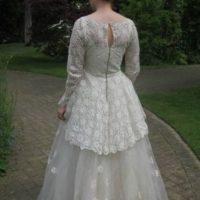 Este vestido de novia es de los años 50. Foto:vía eBay