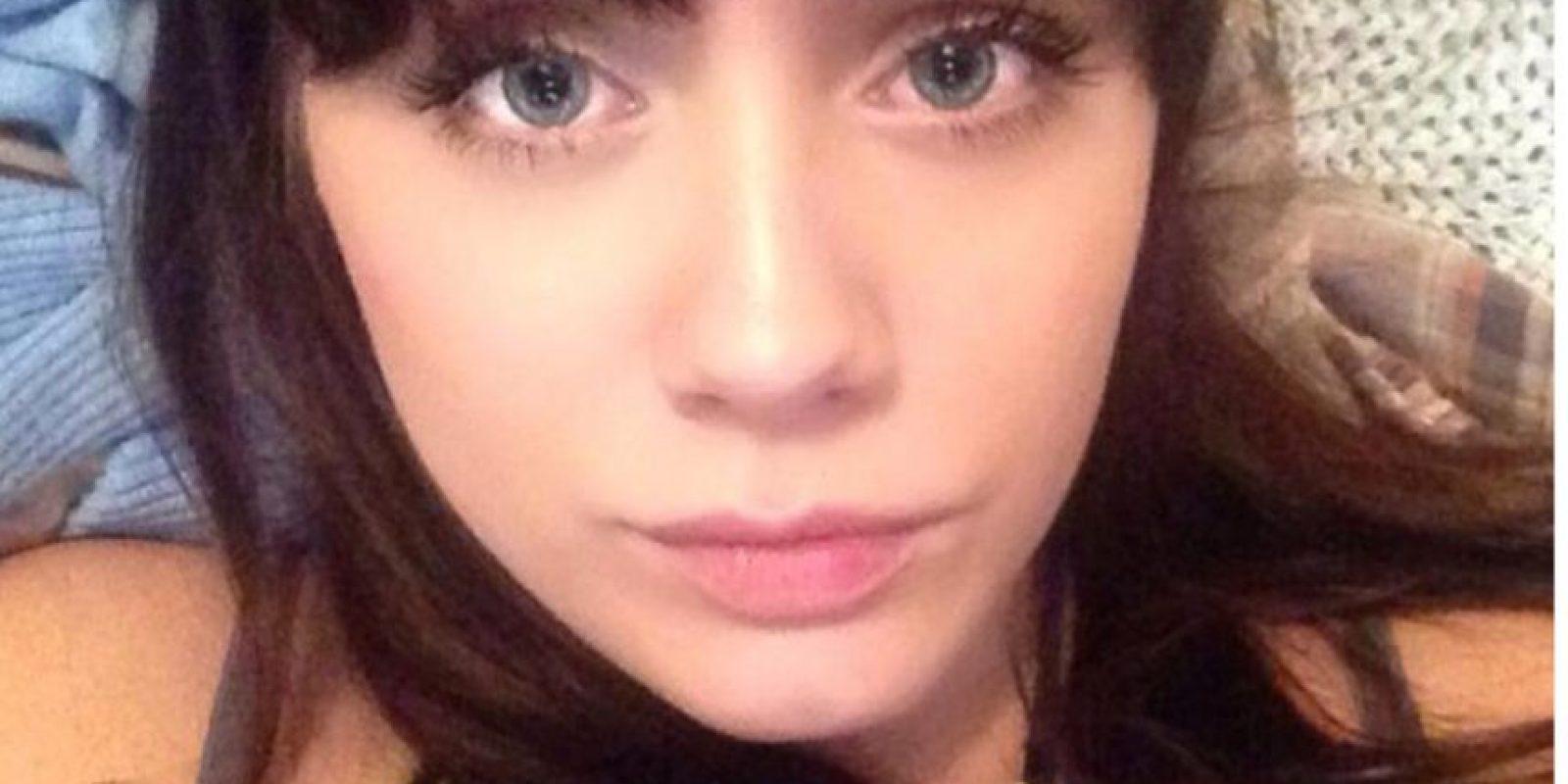 Ella se llama Amanda Fisher, tiene 23 años y vive en Texas. Foto:vía Facebook/Amanda Fisher