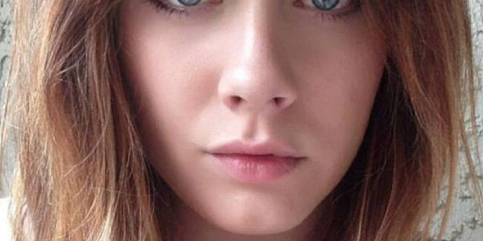 Un amigo le dijo que alguien en Instagram lucía exactamente igual a ella. Foto:vía Facebook/Amanda Fisher