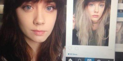 """Sus amigos pronto comenzaron a enviar fotos de ella con su """"gemela"""". Foto:vía Facebook/Amanda Fisher"""