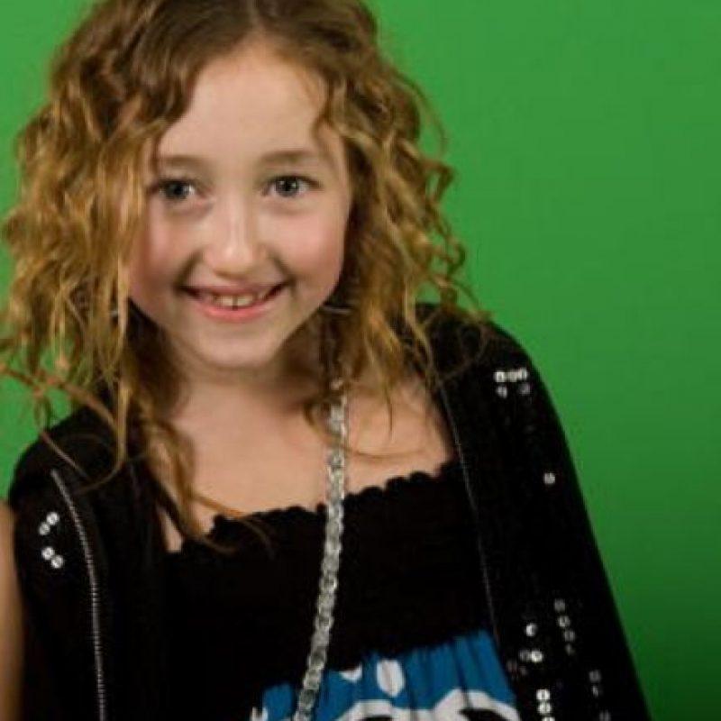 Era una inocente pequeña de casi una década. Foto:vía Getty Images