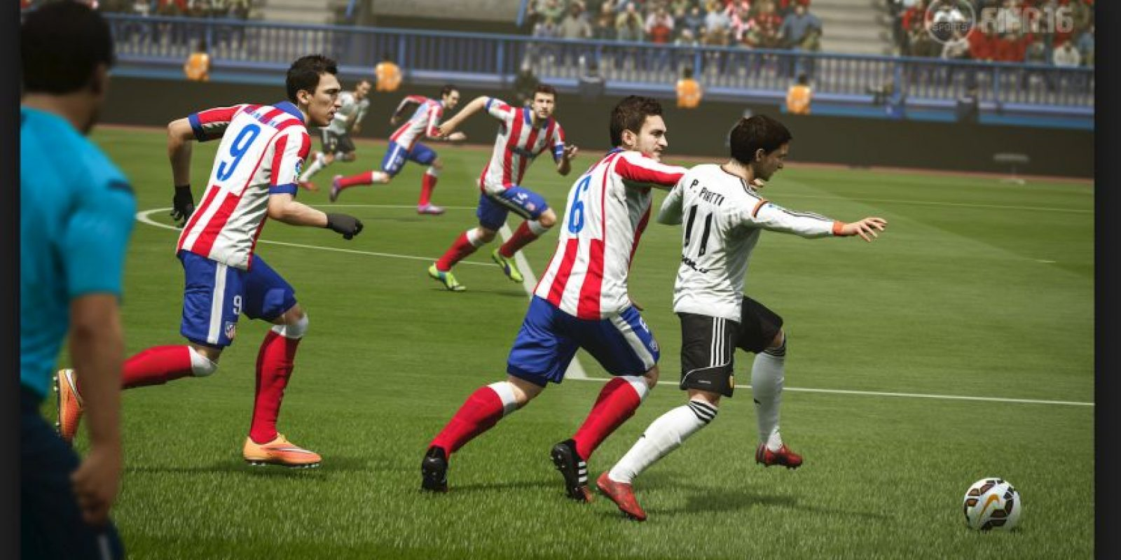 FIFA 16: Mejora en la inteligencia artificial de las defensas Foto: EASport