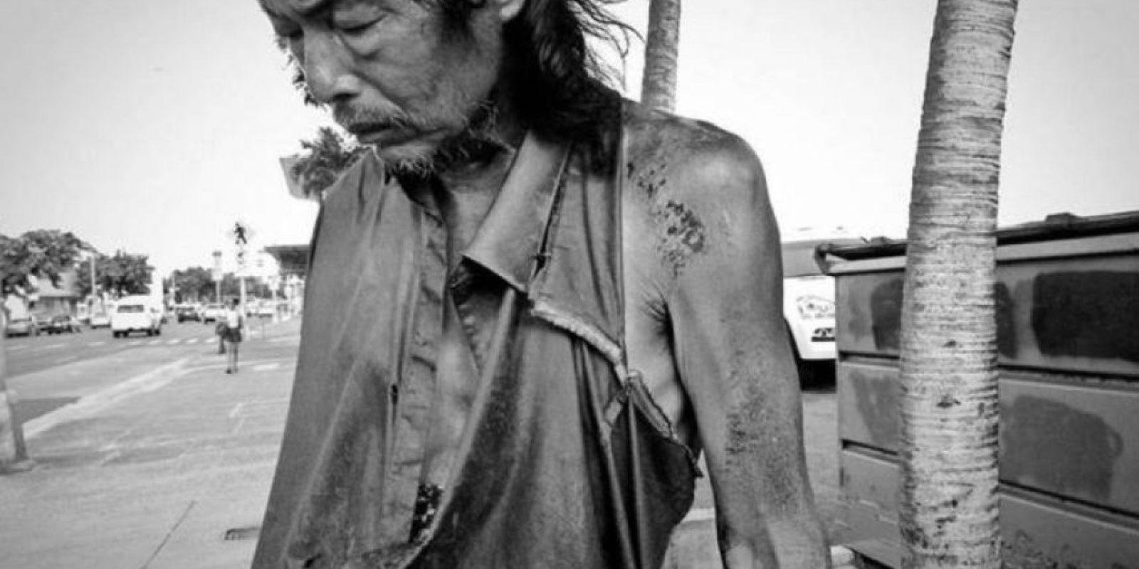 Entonces comenzó a estudiar fotografía y retrató mendigos. Foto:vía Diana Kim