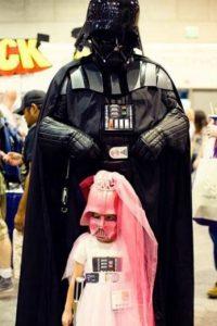 Papá Darth Vader. Foto:vía imgur