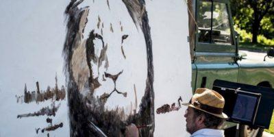 Luego de esto, lo decapitaron y despellejaron. Foto:vía AFP