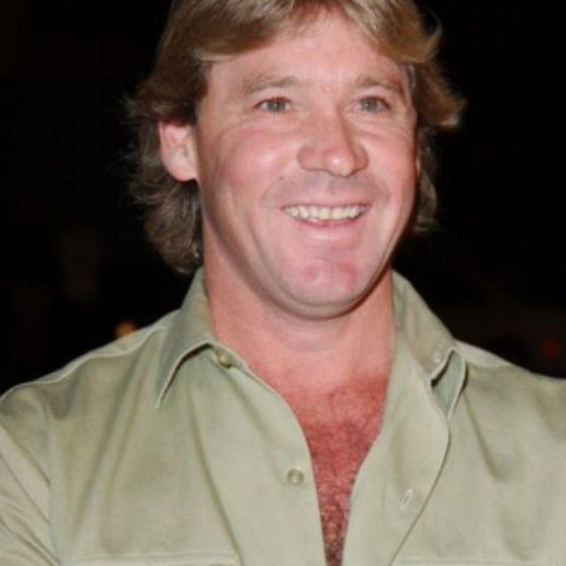 Steve Irwin, como todo el mundo sabe, murió por un coletazo de una raya en su corazón. Foto:vía Getty Images