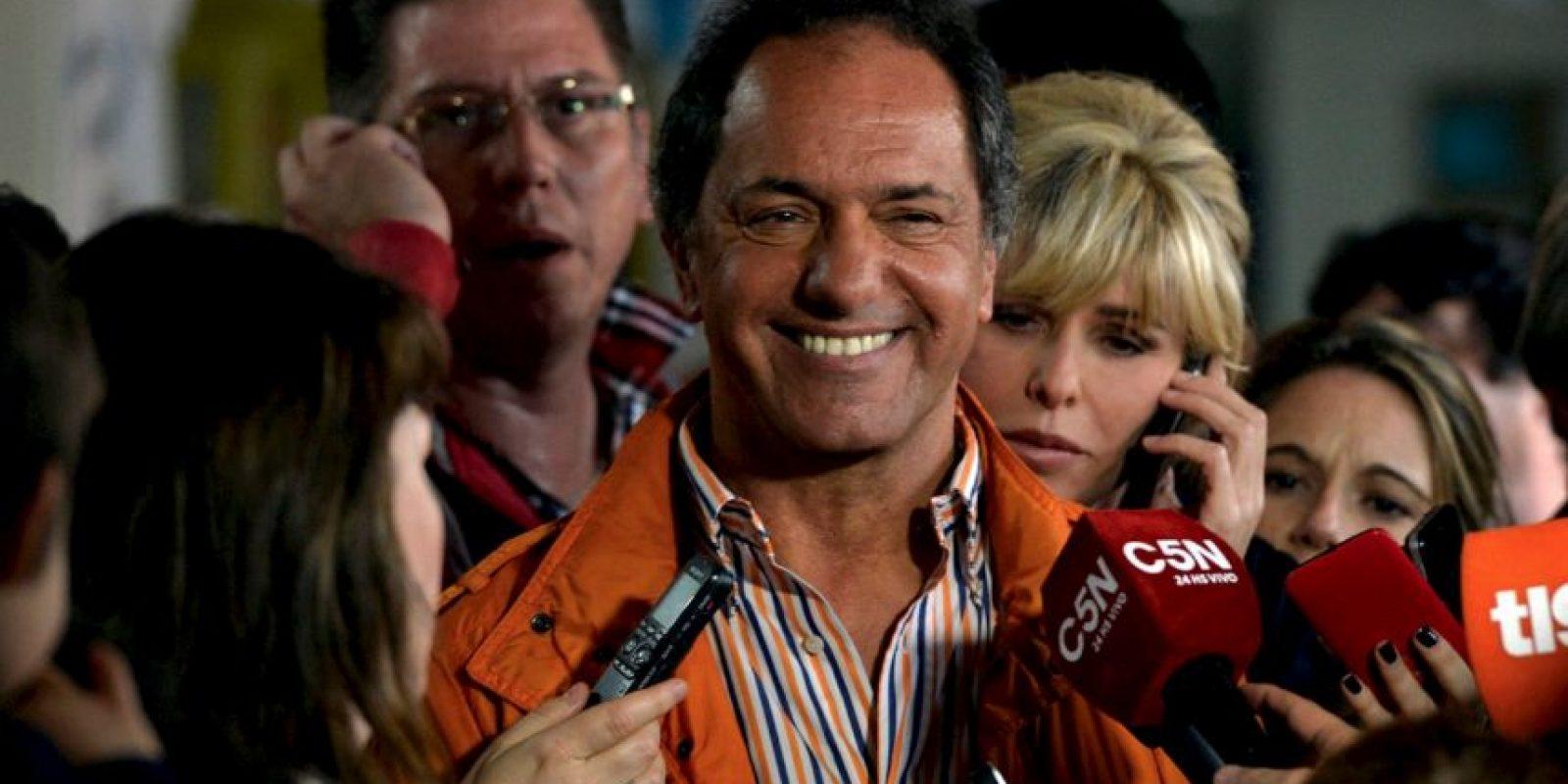 Después de que ganara las elecciones primarias, Daniel Scioli decidió viajar a Italia. Foto:Vía facebook.com/danielsciolioficial