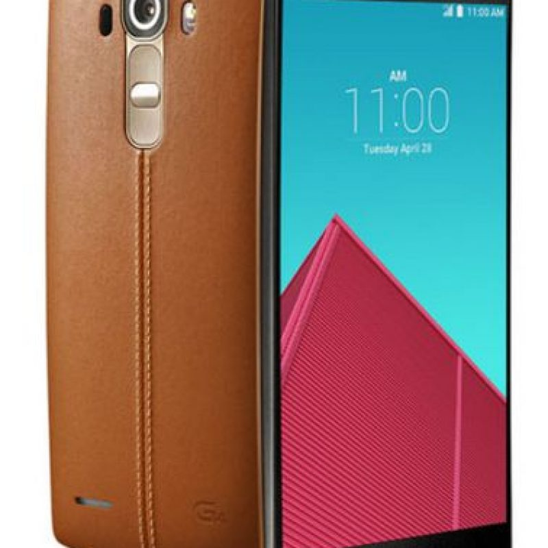 LG G4: Expansión de almacenamiento hasta 2TB, cámara frontal de 8 mega píxeles y el más ligero con un peso de 155 gramos Foto:LG