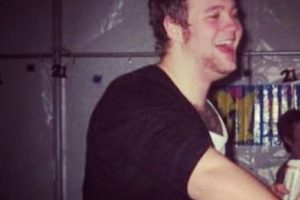 Jonny Laidler se hizo famoso hace dos años por su peso. Foto:vía Tumblr