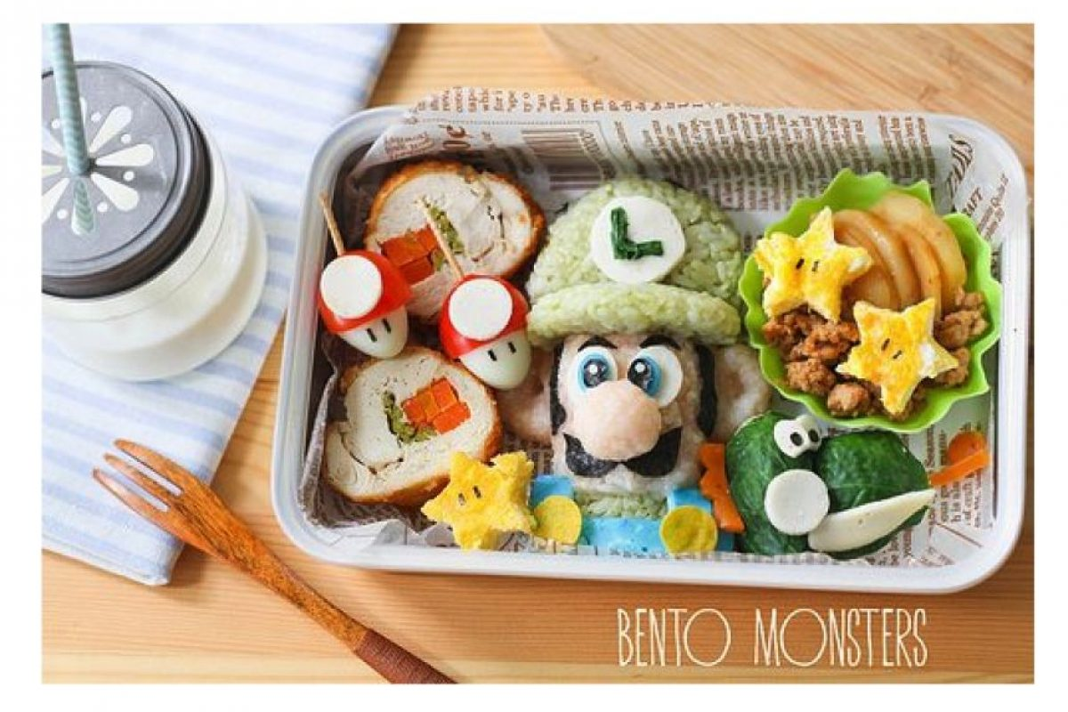 Título: The Meal of Luigi Foto: Bento Monsters
