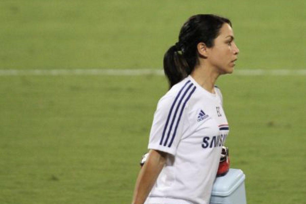 En 2008, Eva trabajó con el Instituto Médico Olímpico que se preparaba para los Juegos de Pekín en 2008. Le tocó participar con el equipo femenino de fútbol y con el de atletismo. Foto:Wikimedia