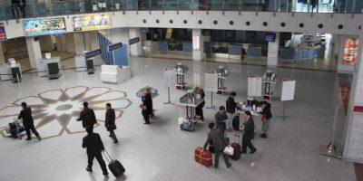 Las básculas se encontraran en la zona de embarques. Foto:Vía facebook.com/Uzbekistan-Airways