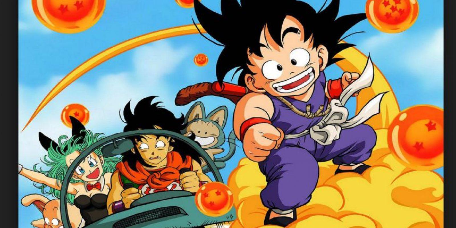 """""""Dragon Ball"""" es un manga escrito e ilustrado por Akira Toriyama que fue llevado a la televisión mundial. Marcó una época en casi todos los países donde fue transmitido Foto:Akira Toriyama/Fuji Television"""
